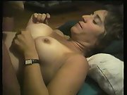 Michelle being tittie fucked then takes a big load of cum